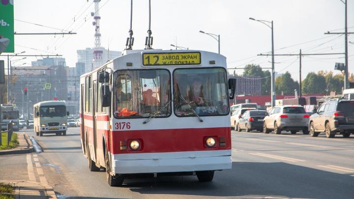 В Самаре по проспекту Кирова до завода «Экран» пустили и троллейбусы