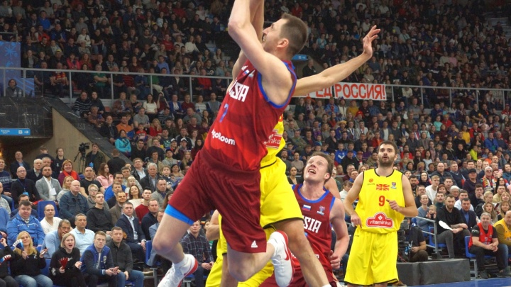 В Перми пройдут шесть матчей чемпионата Европы по баскетболу