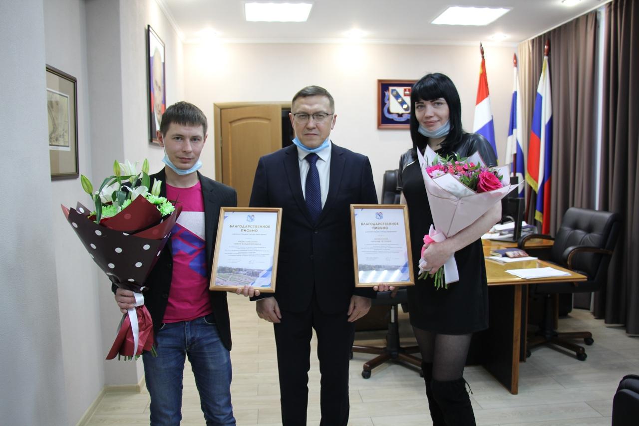 Вместе с Павлом наградили Наталью Коляскину