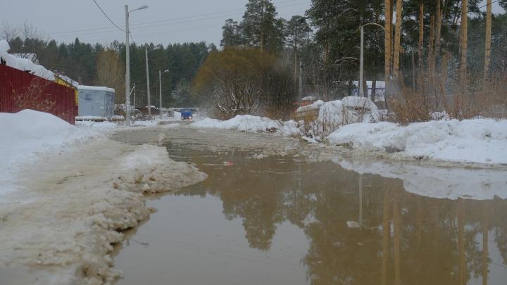 «Жить тут невозможно»: в Перми частный сектор затопило канализационными стоками