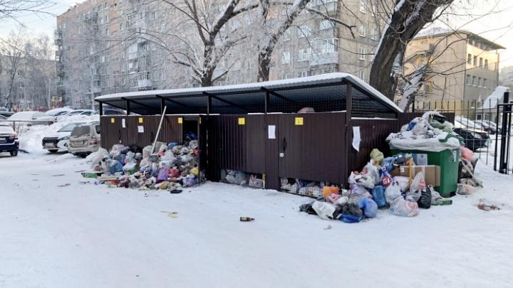 Гусинобродский полигон хотят расширить за черту Новосибирска: Анатолий Локоть о ситуации с мусором в городе