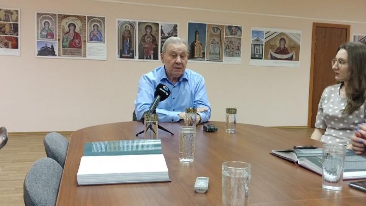 «Мы не уснули на паперти Свято-Ильинского собора»: Полежаев снова вспомнил о планах по воссозданию церкви