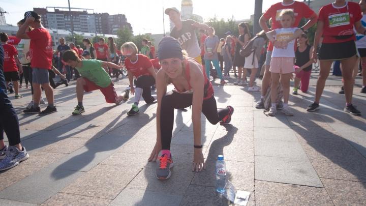 Организаторы марафона в Екатеринбурге рассказали, как побегут тысячи горожан