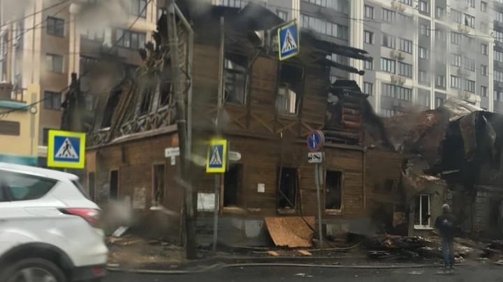 Самарцы показали, как выглядят дома на Арцыбушевской после пожара