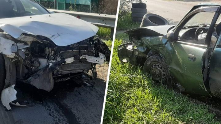В Батайске подростки прокатились на машине и попали в аварию. Пострадал четырехлетний мальчик