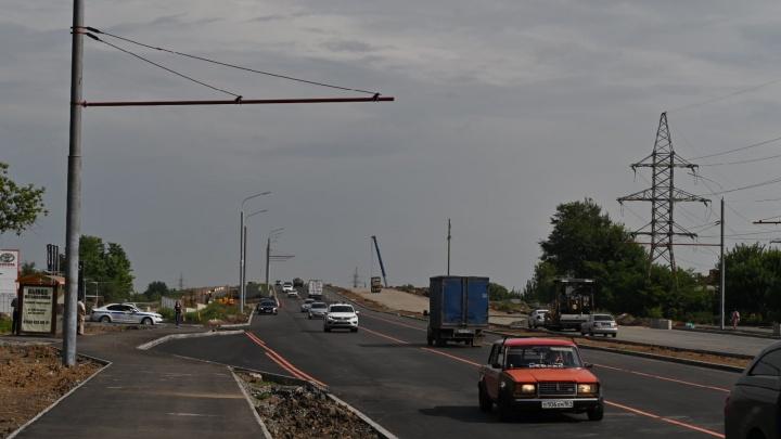 В Ростове открылось движение по мосту на Малиновского