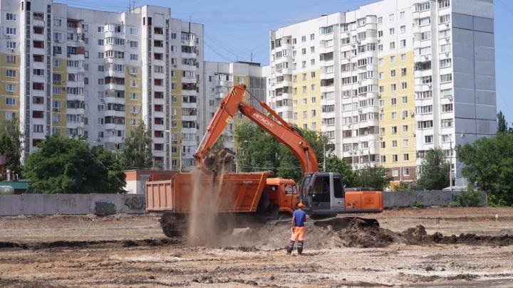 В Самаре начали ремонтировать стадион «Орбита»