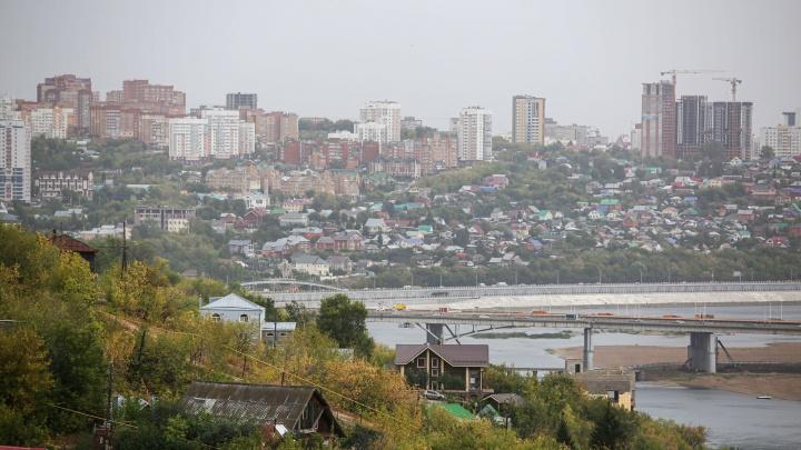 Серая Уфа: как пасмурная осень пришла на смену знойному лету в башкирской столице