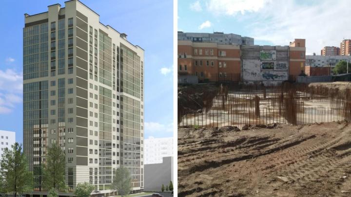 «Машины в наших дворах будут ставить?»: на месте поликлиники-недостроя в Брагино построят 19-этажный дом