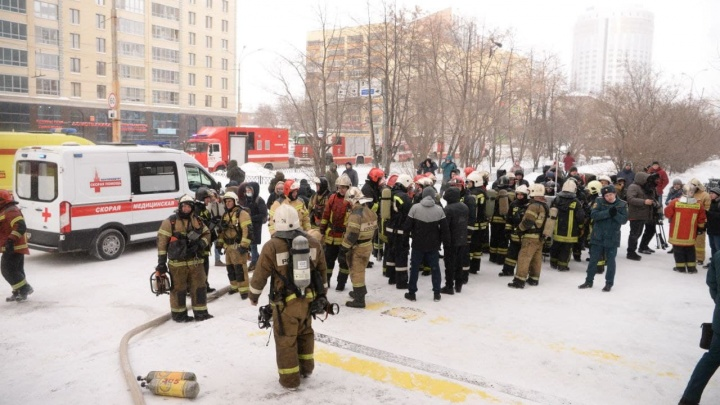 Пострадавшая при пожаре на Белинского женщина попала в реанимацию