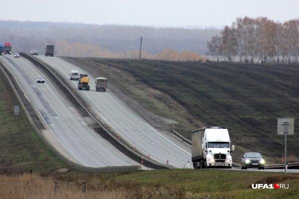 Дорогу в Башкирии перекроют на два дня