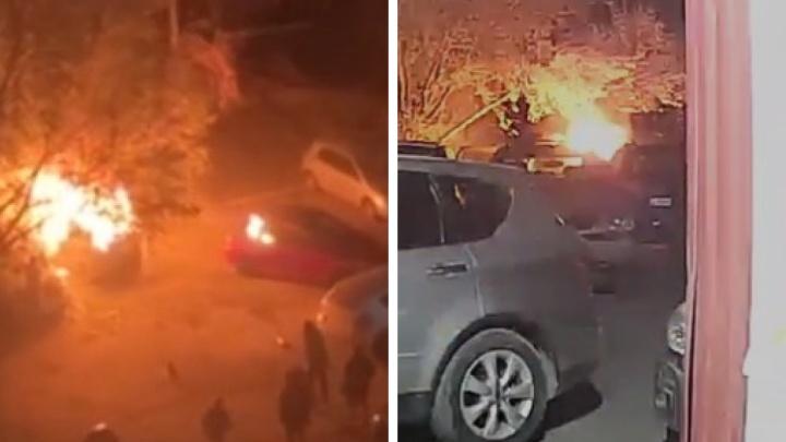 «Прикурил в машине, а там канистра с бензином»: очевидец рассказал, как тушил загоревшегося после взрыва человека