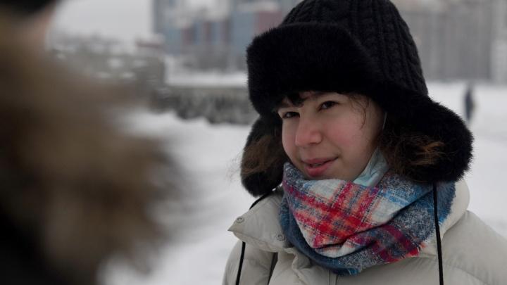 Екатеринбурженку, которую назвали «лицом протеста», вызвали в полицию как свидетеля по уголовному делу