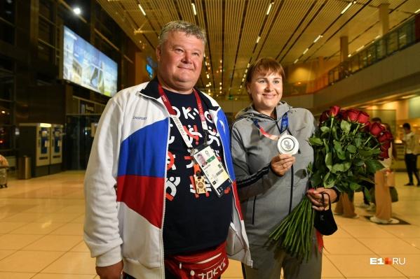 Станислав Попов тренирует Ксению Перову с момента ее прихода в секцию