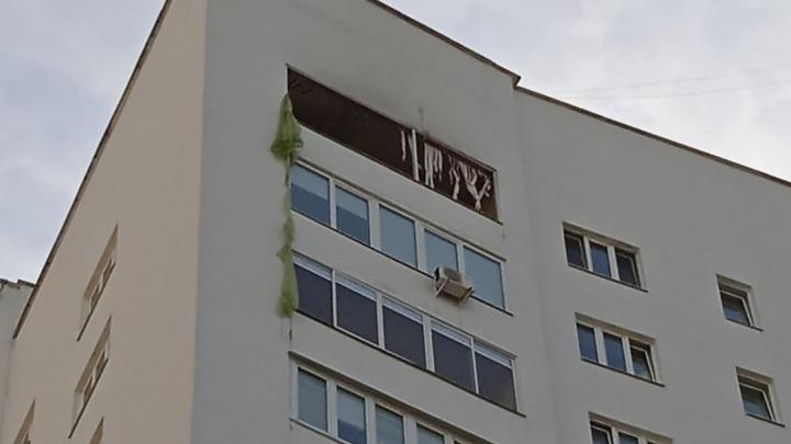 На ВИЗе взорвалась квартира с нарколабораторией, где делали мефедрон