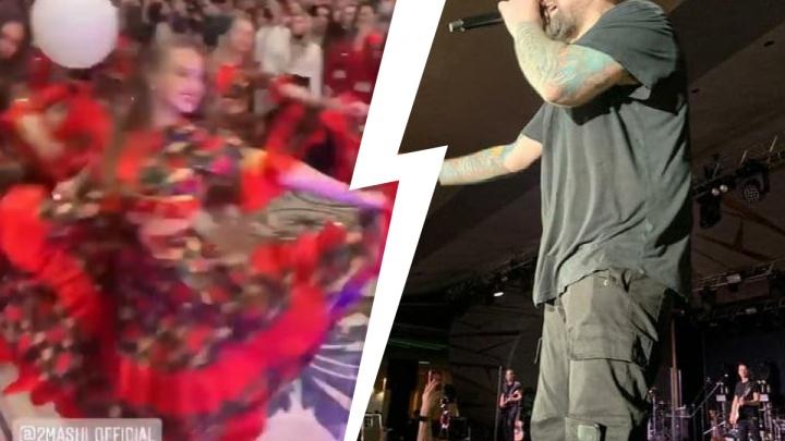 Баста зажег в «Сима-ленде»: видео с закрытого концерта