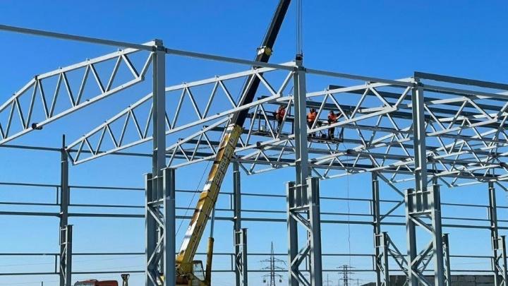 В Самарской области начали строить новый завод