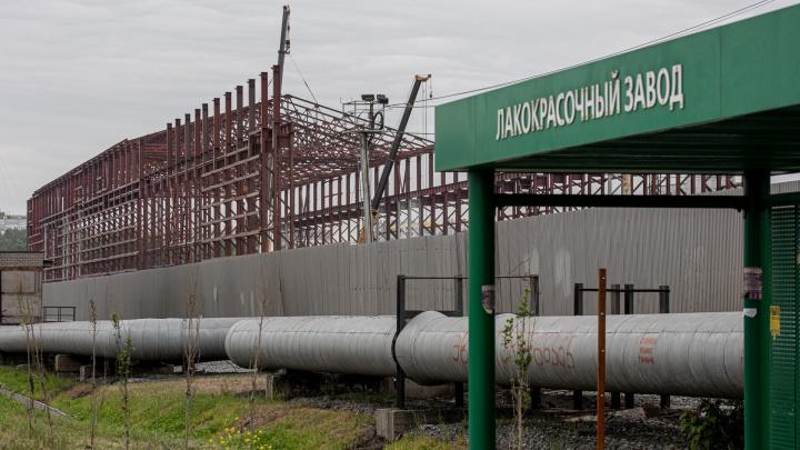 На Свердловском тракте строят крупный объект с железной дорогой. В Челябинске появится новый завод?