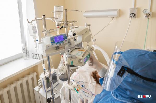 В больнице пациенты находятся под круглосуточным контролем врачей