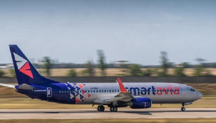 Авиакомпания Smartavia запускает рейсы из Перми в Санкт-Петербург, стартуя с недорогими билетами