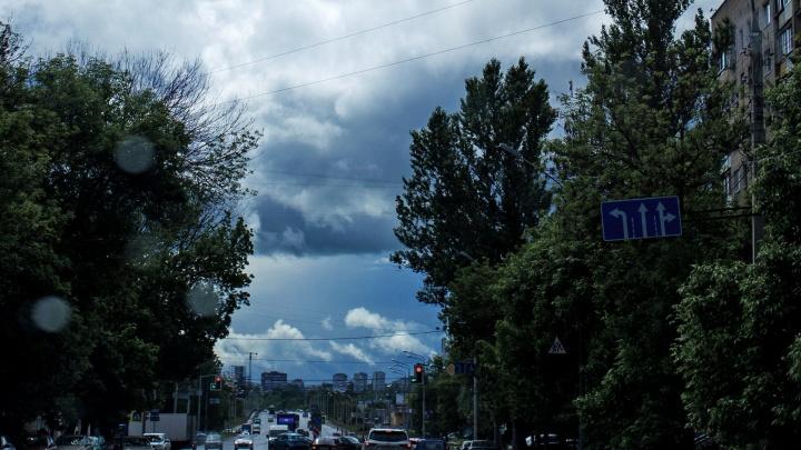 Экстренное предупреждение МЧС: на Ярославль движется гроза, возможен град
