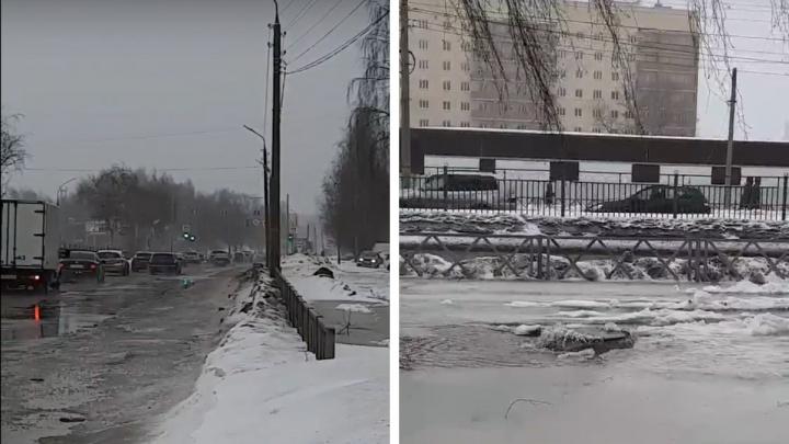 В Ярославле затопило проспект Авиаторов: что произошло