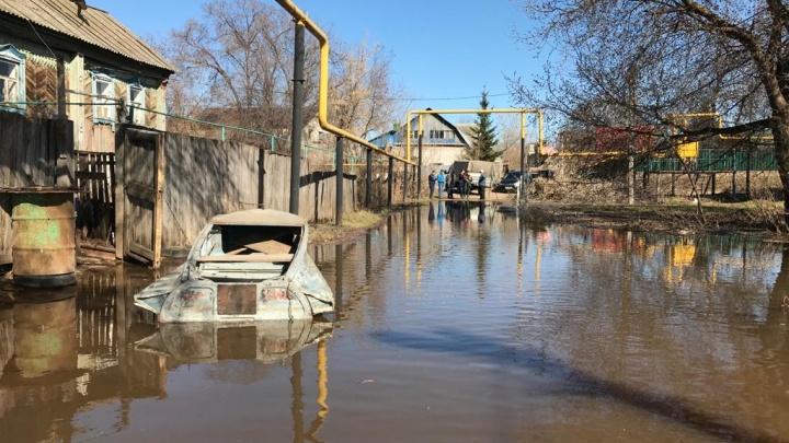 В реке Дёме зафиксировано повышение уровня воды