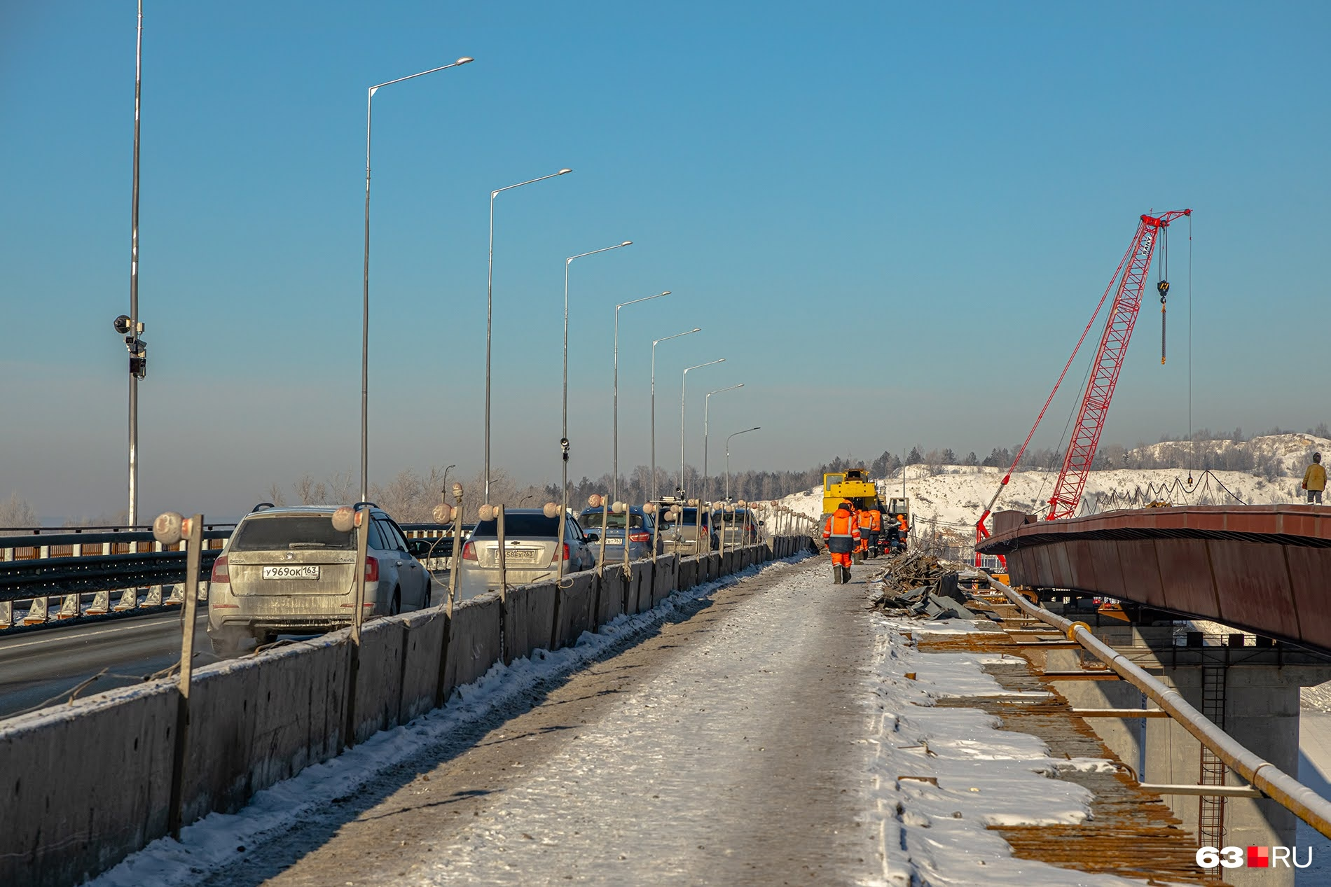 На обоих мостах планируют обустроить пешеходные зоны