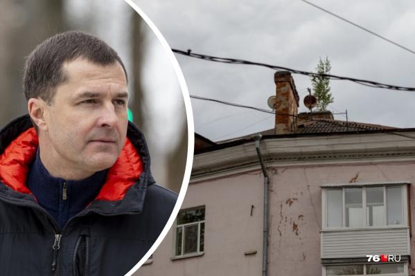 Владимир Волков живет в доме на Красной площади