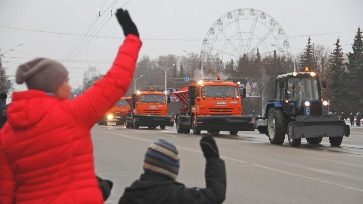 В Уфе отменили парад коммунальщиков