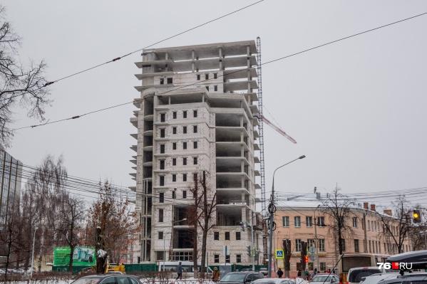 За здание власти намерены получить476 миллионов