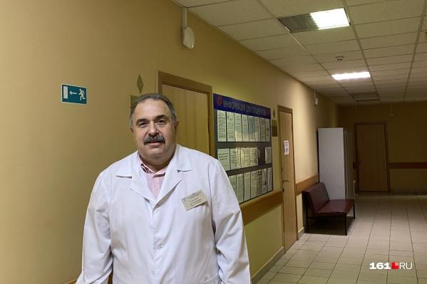 Борис Тер-Григорьянц работал в больнице с 2007 года