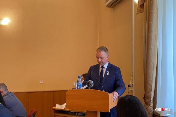 Потапов стал мэром Кургана в 2019 году