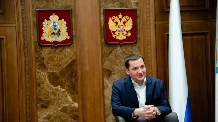 Вы можете задать вопрос губернатору Поморья. Пообщаемся с Александром Цыбульским в прямом эфире