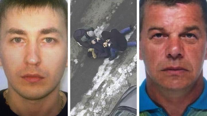 В Екатеринбурге дерзкие автоугонщики дважды сбегали от полиции, но один из них попался: оперативное видео