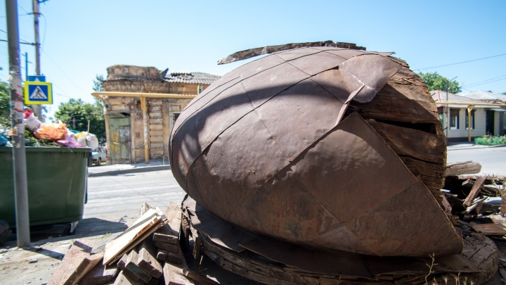 Старинному куполу, который выбросили жители Ростова, нашли новый дом