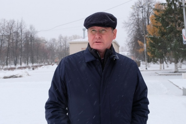 Евгений Писцов стал главой Берёзовского в 2011 году
