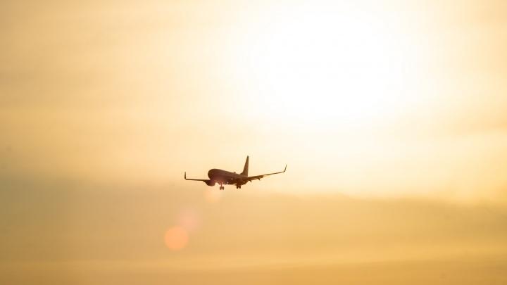 Из-за тумана в омском аэропорту не смогли вовремя приземлиться шесть самолетов