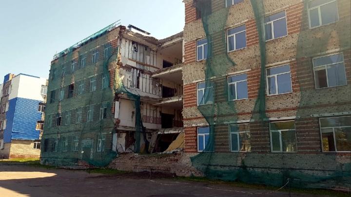 Минобороны РФ потребовало снести обрушенную казарму в Светлом