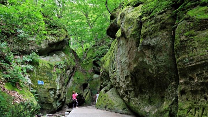 Карманные горы. Едем в Горячий Ключ за водопадами и лечебной водой