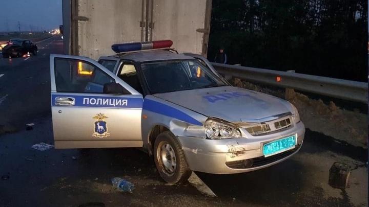 В Самарской области умер в больнице полицейский, попавший в ДТП