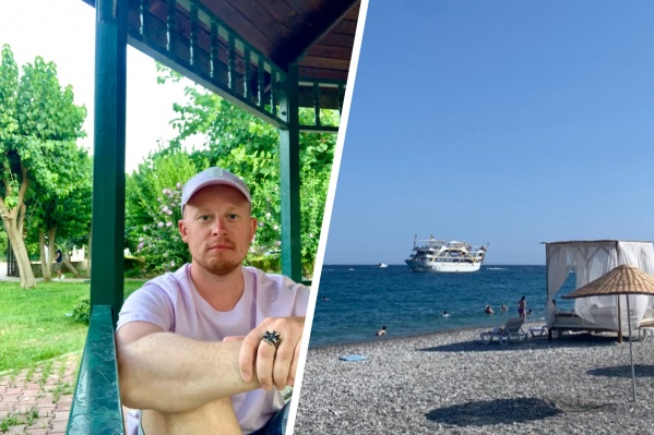 Фотограф Дмитрий Рудик и пляж, где все произошло
