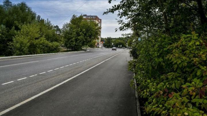 В Перми прошла приемка первой отремонтированной по нацпроекту улицы в этом году