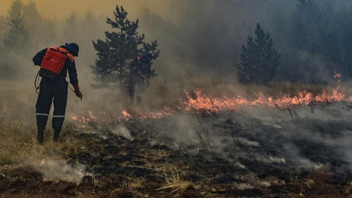 В Челябинской области отменили режим ЧС, введенный из-за лесных пожаров на юге региона