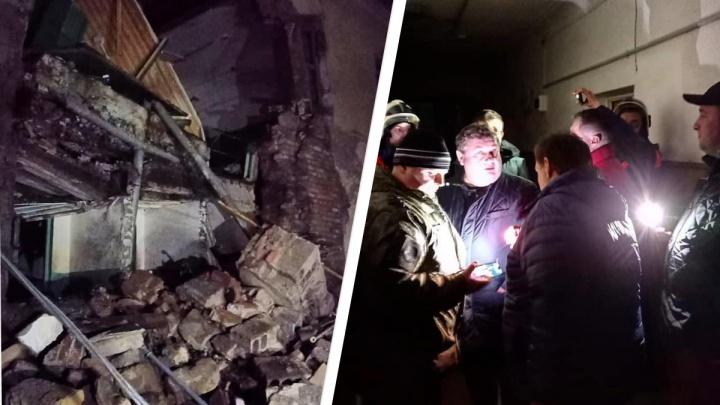 Пять семей после обрушения стены общежития в Канске заселили в гостиницу
