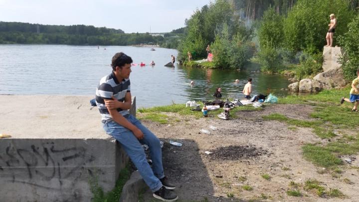 В карьере у «Рамады» утонул рабочий с соседней стройки