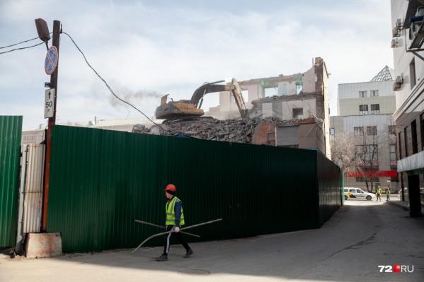 В планах — демонтаж объектов в разных частях города