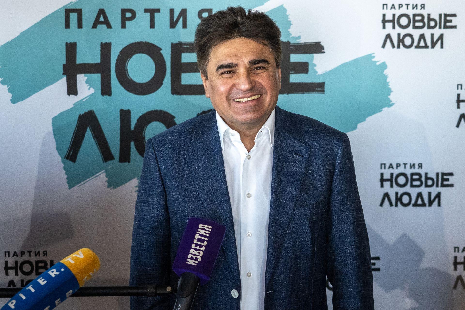 Алексей Нечаев,председатель партии «Новые люди»