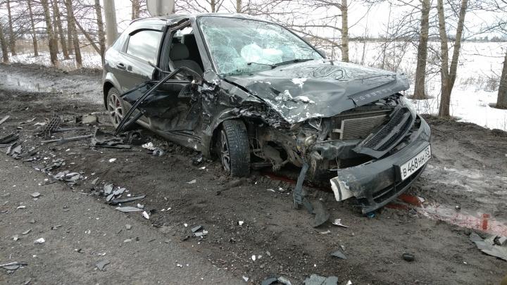 В Ярославле пьяный лихач вылетел на встречку и устроил ДТП с пострадавшими. Видео