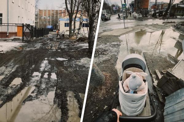 Примерно так выглядит путь, который молодым родителям, например, нужно преодолеть с коляской. Квест, без шуток